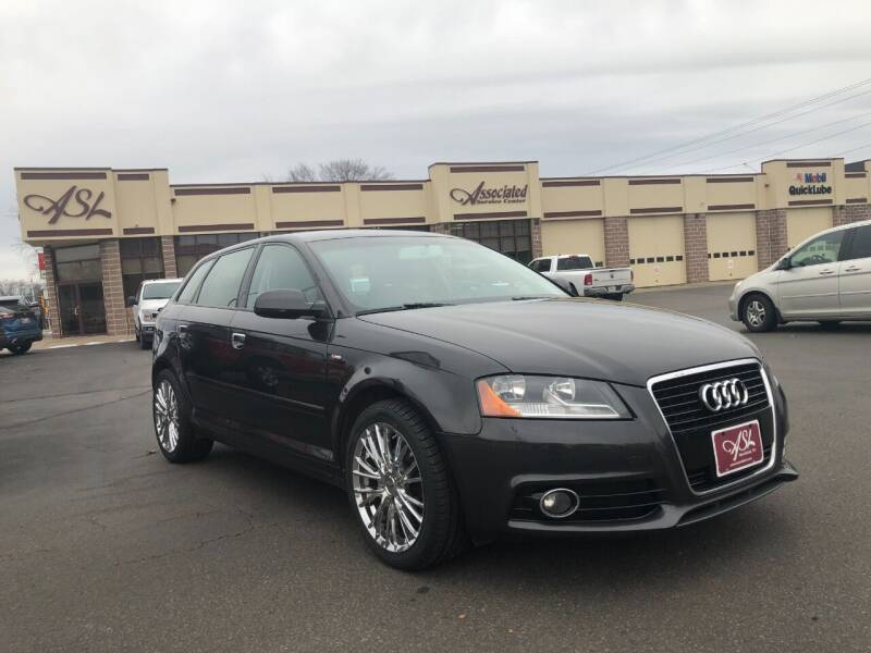 2013 Audi A3 for sale at ASSOCIATED SALES & LEASING in Marshfield WI
