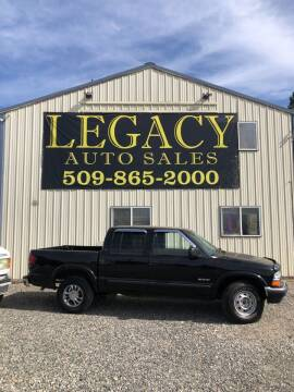2002 Chevrolet S-10 for sale at Legacy Auto Sales in Toppenish WA