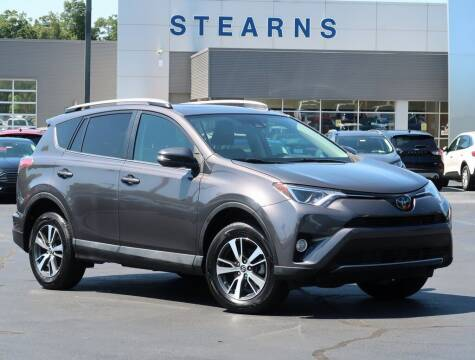 2017 Toyota RAV4 for sale at Stearns Ford in Burlington NC