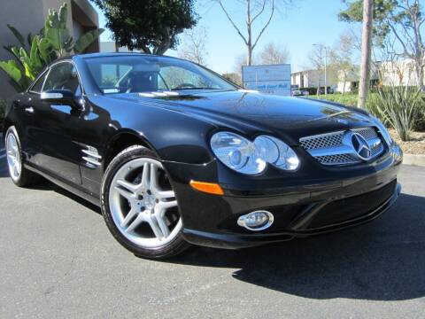 2008 Mercedes-Benz SL-Class for sale at ORANGE COUNTY AUTO WHOLESALE in Irvine CA