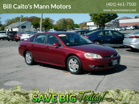 2010 Chevrolet Impala for sale at Bill Caito's Mann Motors in Warwick RI