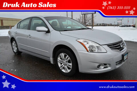 2012 Nissan Altima for sale at Druk Auto Sales in Ramsey MN
