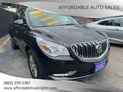 2013 Buick Enclave for sale at Affordable Auto Sales in Irvington NJ