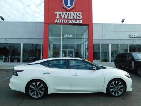 2019 Nissan Maxima for sale at Twins Auto Sales Inc in Detroit MI