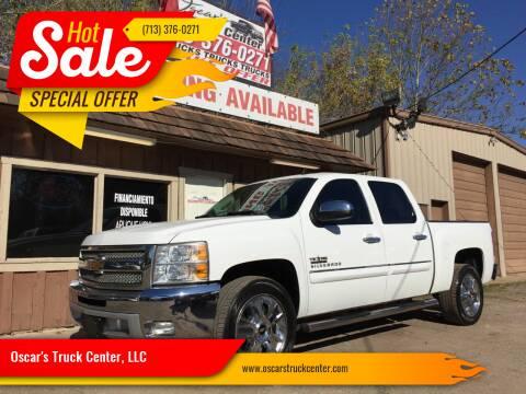 2013 Chevrolet Silverado 1500 for sale at Oscar's Truck Center, LLC in Houston TX