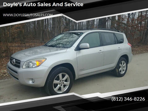 2007 Toyota RAV4 for sale at Doyle's Auto Sales and Service in North Vernon IN