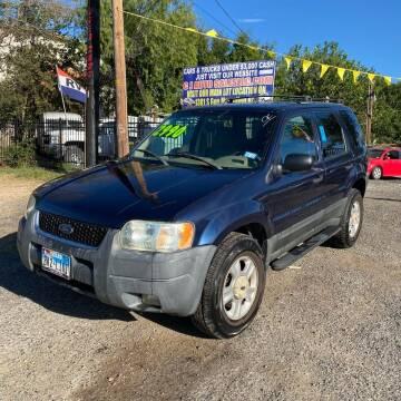 2003 Ford Escape for sale at C.J. AUTO SALES llc. in San Antonio TX
