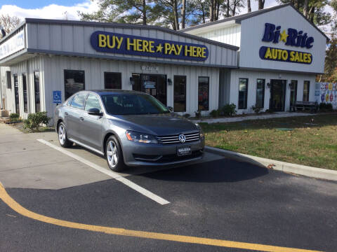 2012 Volkswagen Passat for sale at Bi Rite Auto Sales in Seaford DE