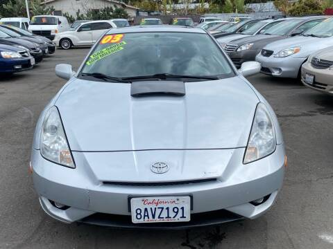 2003 Toyota Celica for sale at North County Auto in Oceanside CA