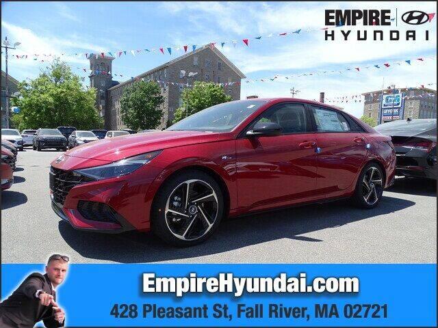 2021 Hyundai Elantra for sale in Fall River, MA