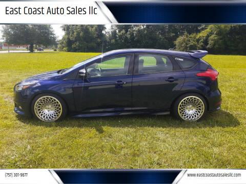 2017 Ford Focus for sale at East Coast Auto Sales llc in Virginia Beach VA