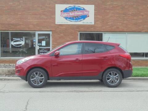 2014 Hyundai Tucson for sale at Eyler Auto Center Inc. in Rushville IL