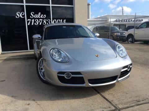 2007 Porsche Cayman for sale at SC SALES INC in Houston TX