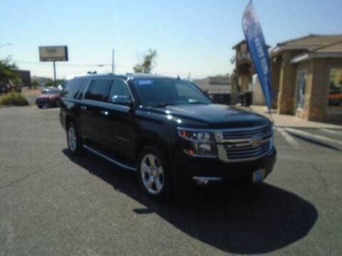 2015 Chevrolet Suburban for sale at Team D Auto Sales in Saint George UT