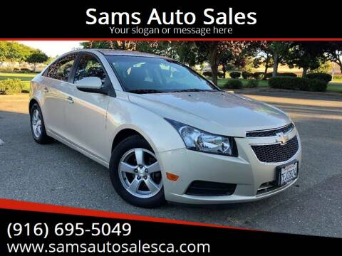 2011 Chevrolet Cruze for sale at Sams Auto Sales in North Highlands CA