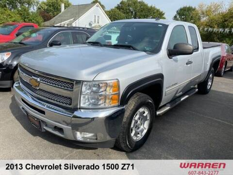 2013 Chevrolet Silverado 1500 for sale at Warren Auto Sales in Oxford NY