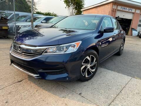 2016 Honda Accord for sale at Seaview Motors and Repair LLC in Bridgeport CT