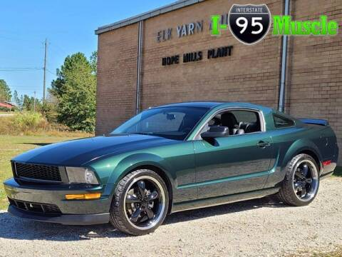 2008 Ford Mustang for sale at I-95 Muscle in Hope Mills NC