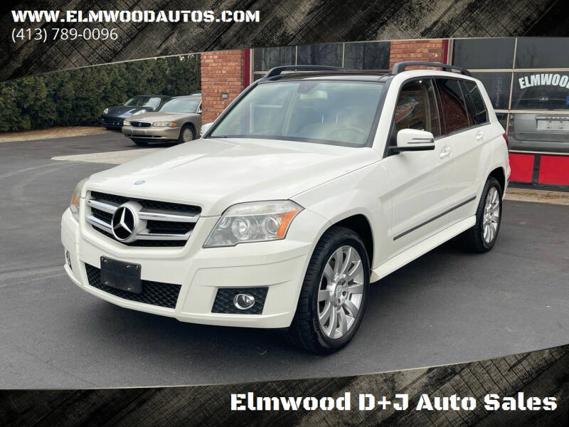 2010 Mercedes-Benz GLK for sale at Elmwood D+J Auto Sales in Agawam MA
