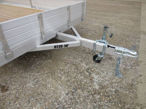 "2021 Aluma 81"" x 15' for sale at Nore's Auto & Trailer Sales - Utility Trailers in Kenmare ND"