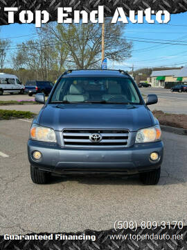 2006 Toyota Highlander for sale at Top End Auto in North Atteboro MA