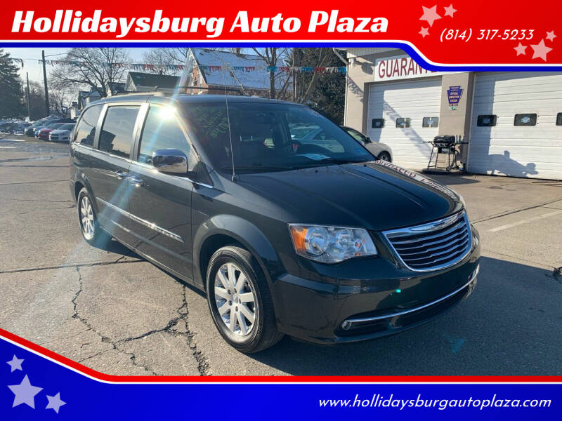 2012 Chrysler Town and Country for sale at Hollidaysburg Auto Plaza in Hollidaysburg PA