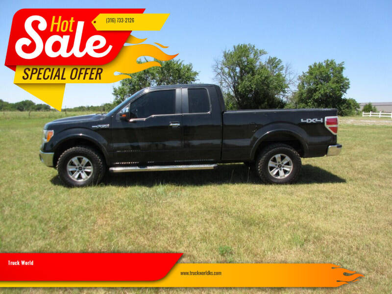 2010 Ford F-150 for sale at Truck World in Augusta KS