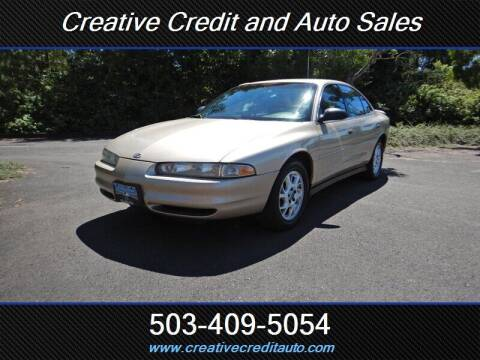 2000 Oldsmobile Intrigue for sale at Creative Credit & Auto Sales in Salem OR
