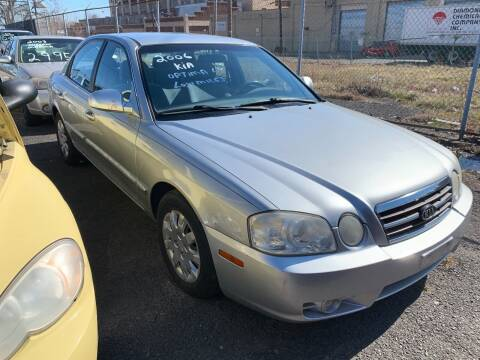 2006 Kia Optima for sale at Dennis Public Garage in Newark NJ