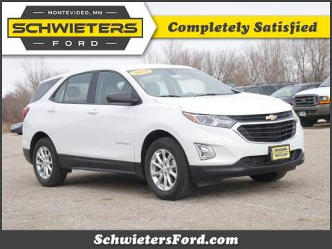 2018 Chevrolet Equinox for sale at Schwieters Ford of Montevideo in Montevideo MN