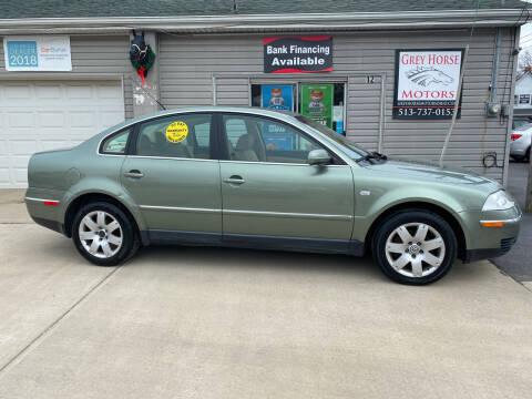 2003 Volkswagen Passat for sale at Grey Horse Motors in Hamilton OH