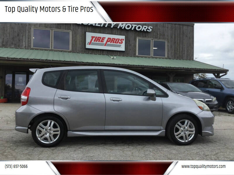 2008 Honda Fit for sale at Top Quality Motors & Tire Pros in Ashland MO