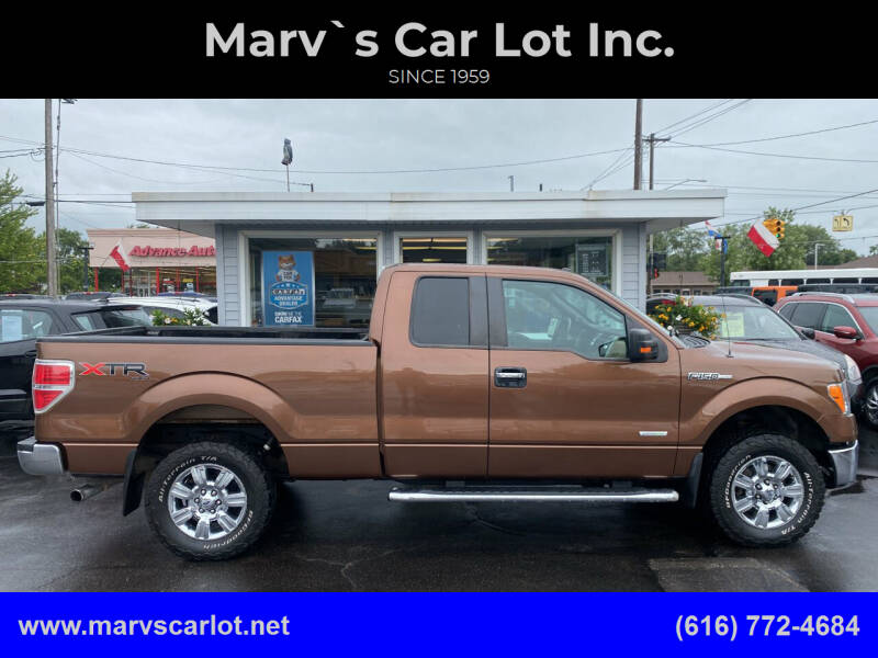 2012 Ford F-150 for sale at Marv`s Car Lot Inc. in Zeeland MI