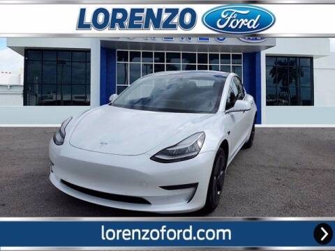 2020 Tesla Model 3 for sale at Lorenzo Ford in Homestead FL
