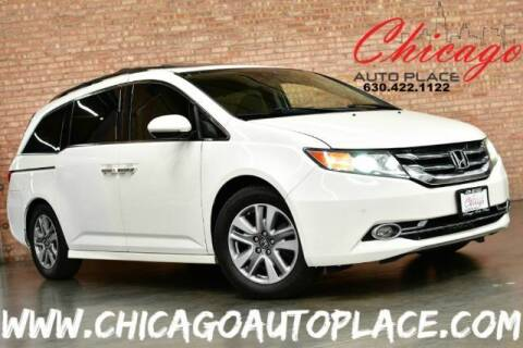 2014 Honda Odyssey for sale at Chicago Auto Place in Bensenville IL