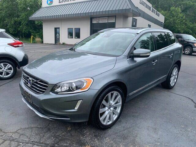 2017 Volvo XC60 for sale at Lighthouse Auto Sales in Holland MI