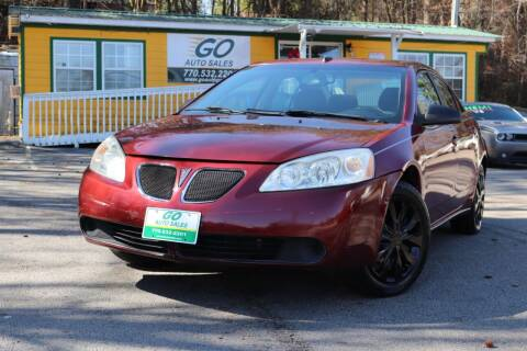 2009 Pontiac G6 for sale at Go Auto Sales in Gainesville GA
