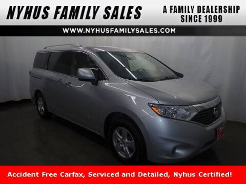 2017 Nissan Quest for sale at Nyhus Family Sales in Perham MN