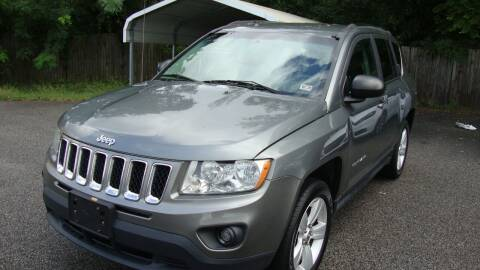 2012 Jeep Compass for sale at Easy Ride Auto Sales Inc in Chester VA