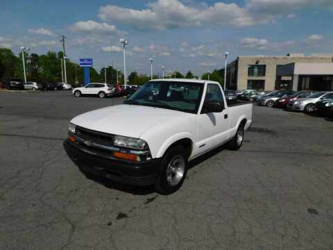 2002 Chevrolet S-10 for sale at Paniagua Auto Mall in Dalton GA