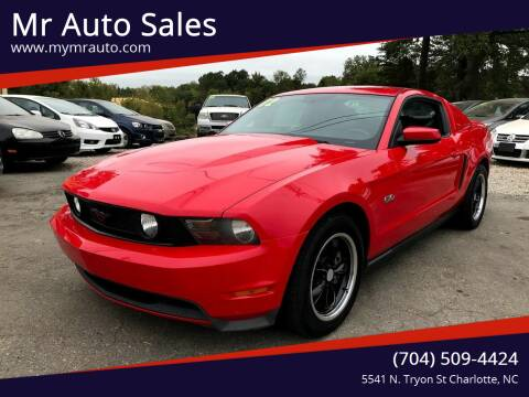 2012 Ford Mustang for sale at Mr Auto Sales in Charlotte NC