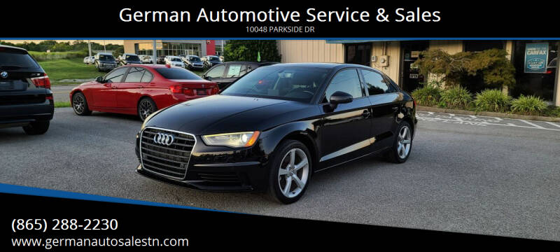 2016 Audi A3 for sale at German Automotive Service & Sales in Knoxville TN