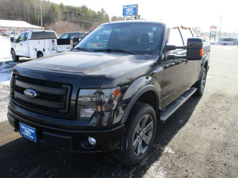2013 Ford F-150 for sale at Ripley & Fletcher Pre-Owned Sales & Service in Farmington ME
