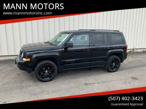 2014 Jeep Patriot for sale at MANN MOTORS in Albert Lea MN