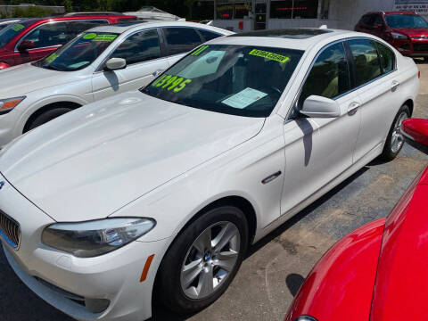2011 BMW 5 Series for sale at TOP OF THE LINE AUTO SALES in Fayetteville NC