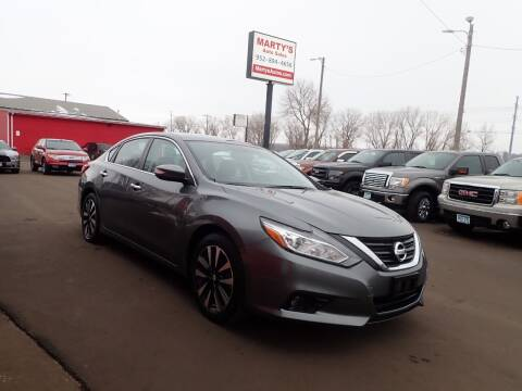 2018 Nissan Altima for sale at Marty's Auto Sales in Savage MN