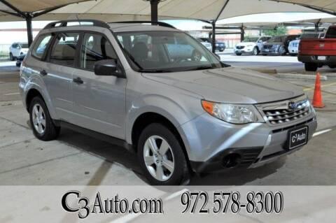 2012 Subaru Forester for sale at C3Auto.com in Plano TX