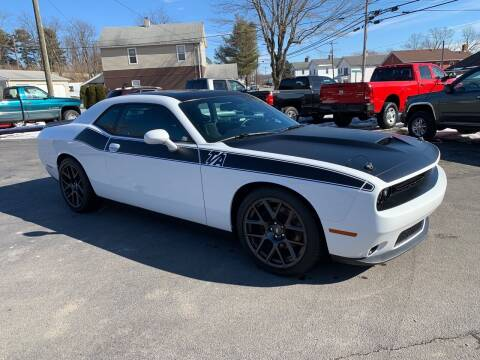 2017 Dodge Challenger for sale at Twin Rocks Auto Sales LLC in Uniontown PA