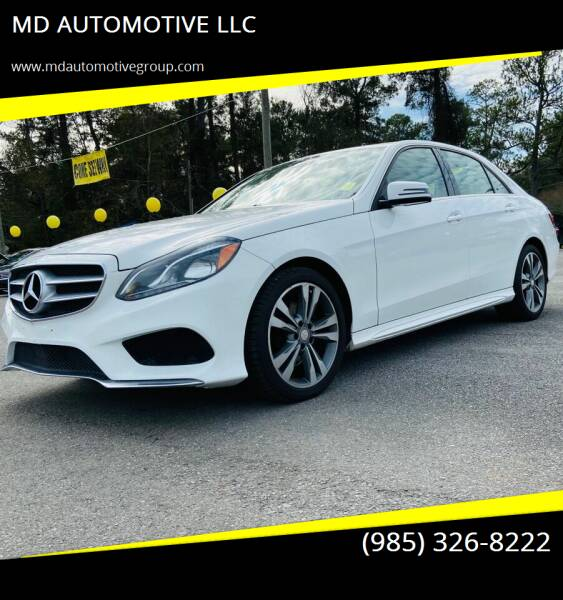 2014 Mercedes-Benz E-Class for sale at MD AUTOMOTIVE LLC in Slidell LA