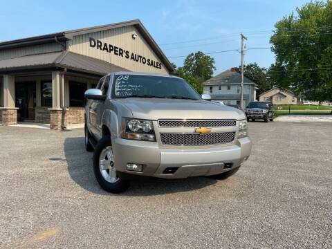 2008 Chevrolet Avalanche for sale at Drapers Auto Sales in Peru IN